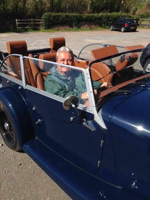Dad Driving Morgan