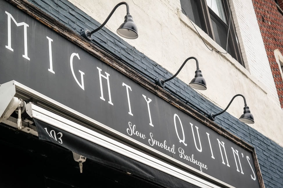 east village neighborhood guide: Mighty Quinn's barbecue