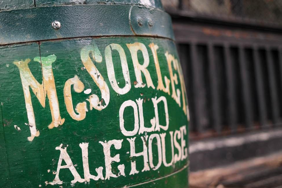 east village neighborhood guide: McSorley's pub