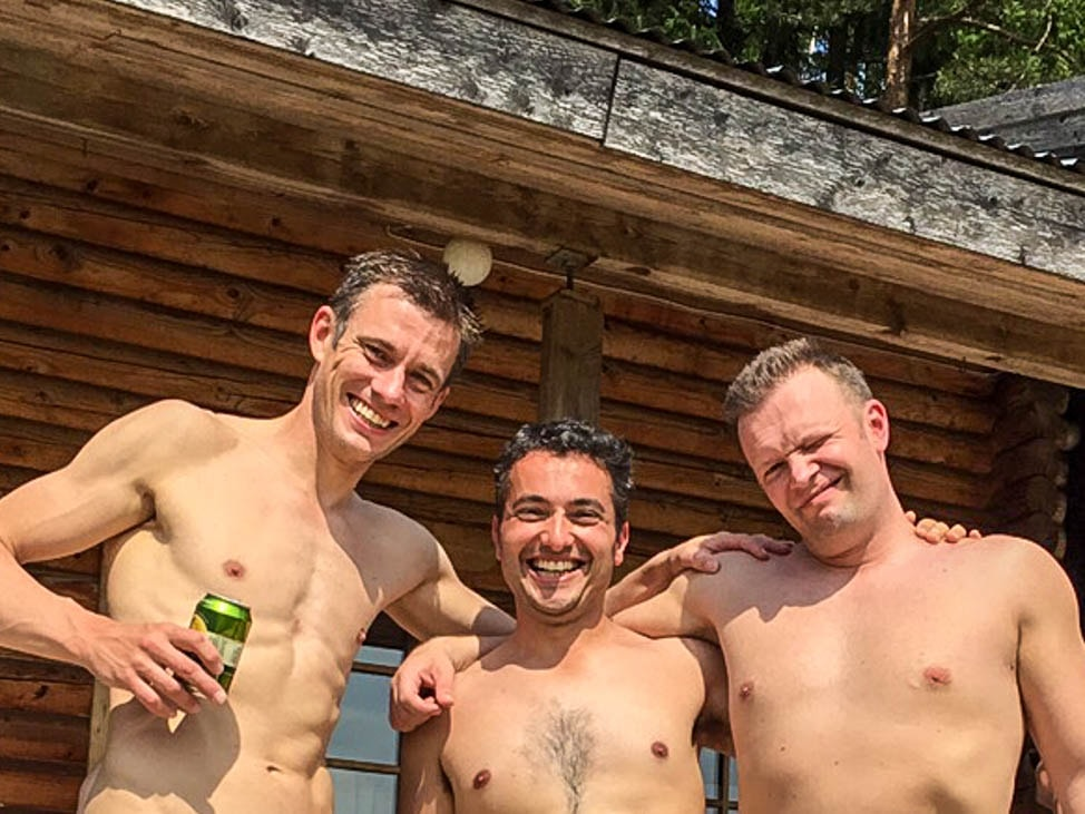 from Achilles first visit to a gay sauna