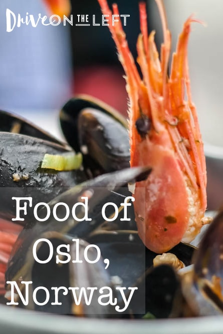 Food of Oslo Norway