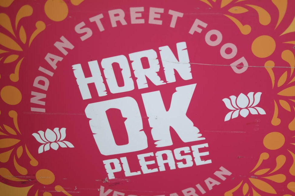 What to eat at Borough Market, London: Horn OK Please Indian food stall