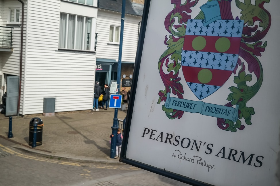 Pearson's Arms, Whitstable, UK