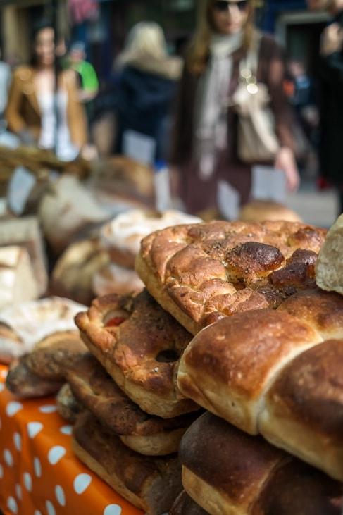 Pavilion Bakery, Broadway Market, London