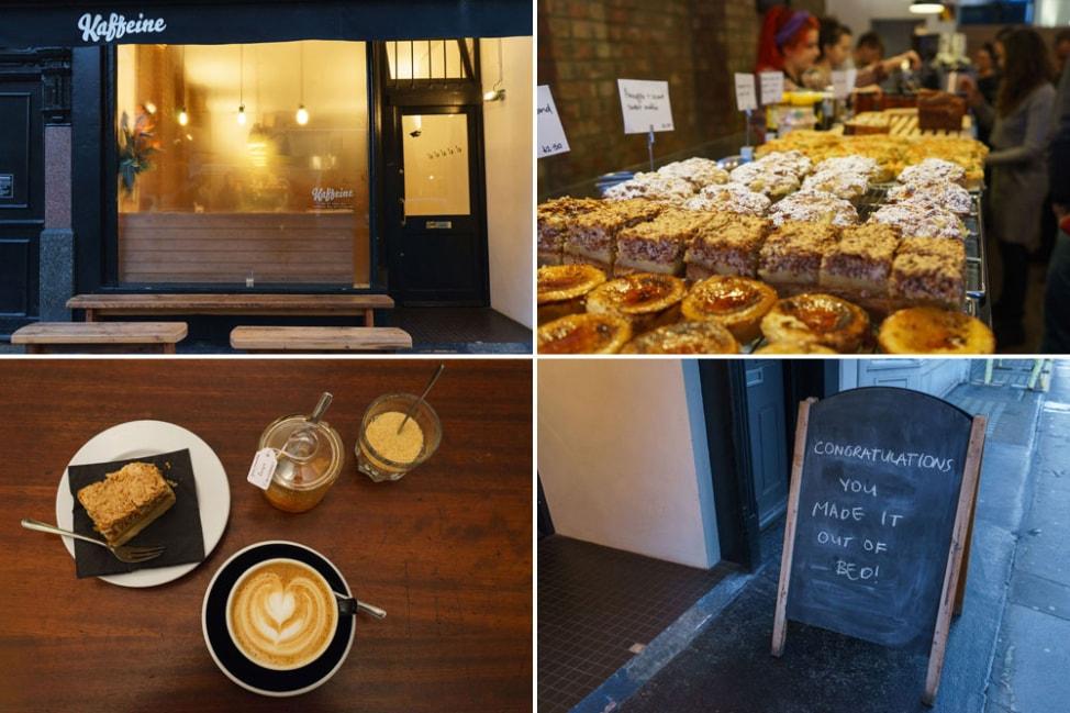 Favorite Restaurants in Europe: Kaffeine, London