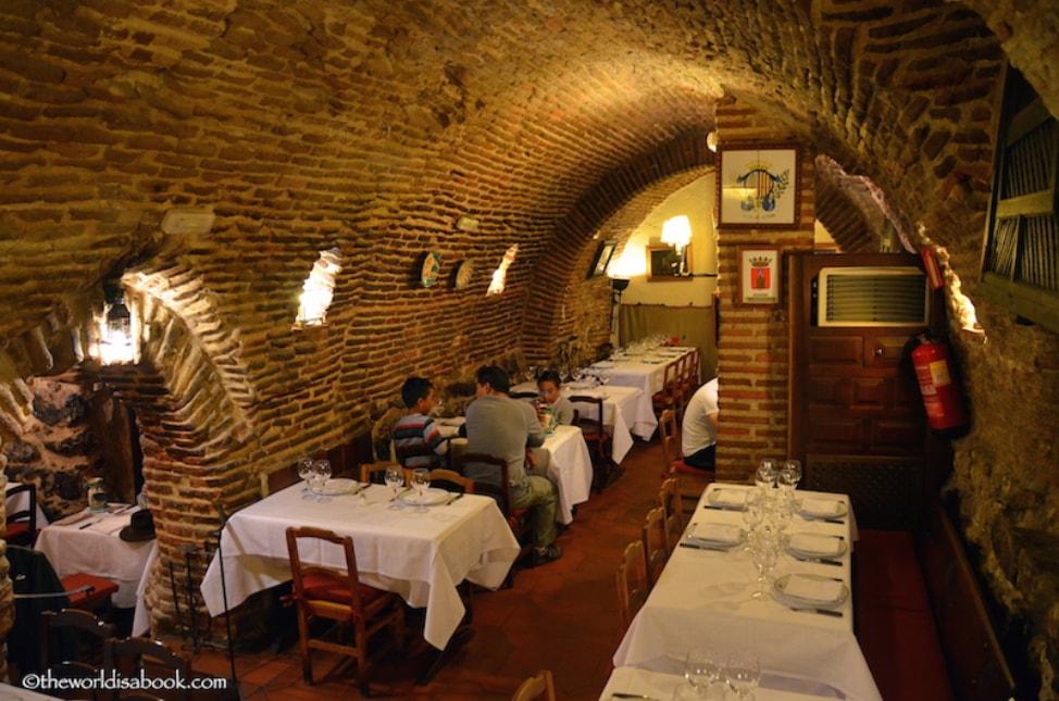 Favorite Restaurants in Europe: Sobrino de Botin, Madrid