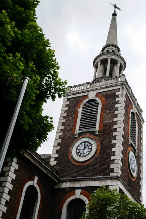 Beautiful Old Church, Bermondsey, London