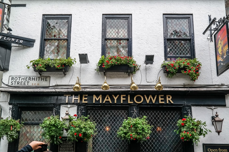 The Mayflower pub, Bermondsey, London