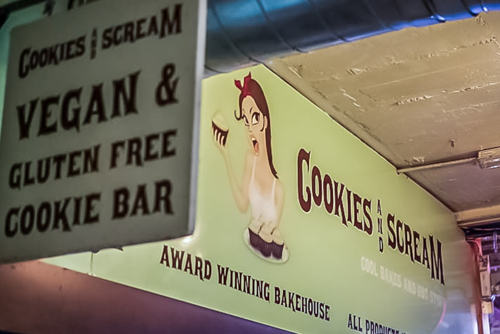 Cookies and Scream, Camden Lock Market, London
