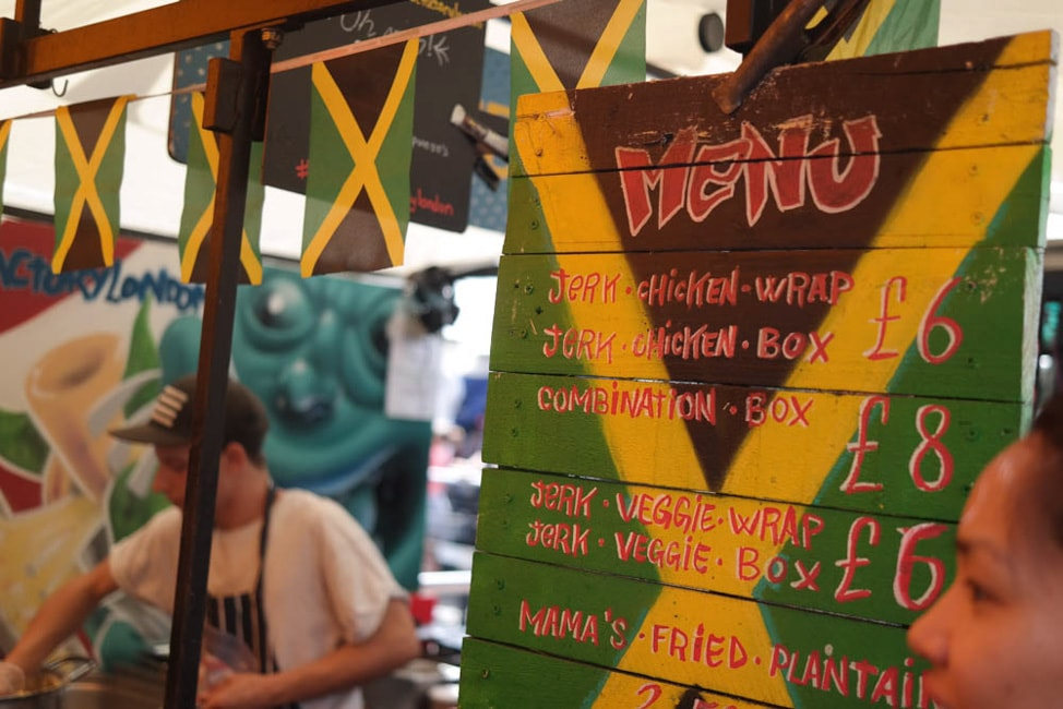 Mama's Jerk Station, Camden Lock Market, London