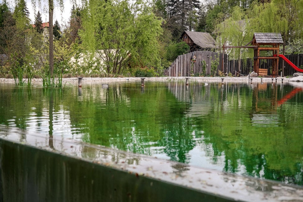 Eco Pool at Garden Village Eco Resort, Lake Bled
