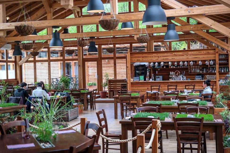 Restaurant at Garden Village Eco Resort, Lake Bled