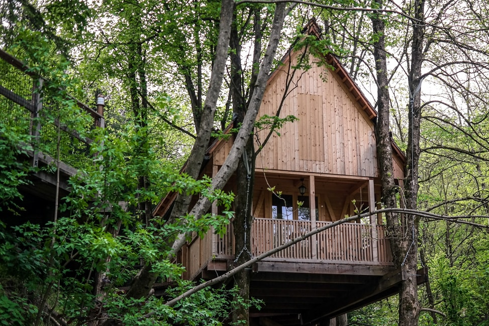 Tree Houses at Garden Village Eco Resort, Lake Bled