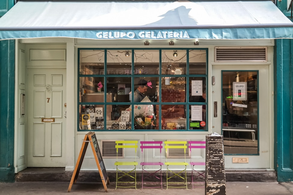The best ice cream in London: Gelupo, SoHo