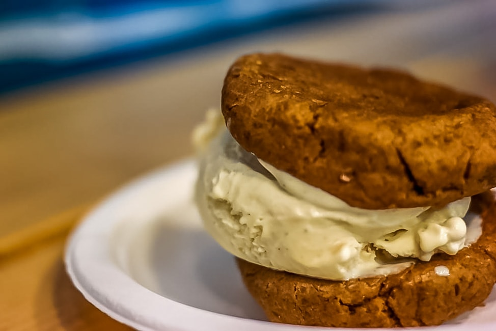 The best ice cream in London: Peanut Butter Cookie Sandwich, Cookies & Scream, Camden