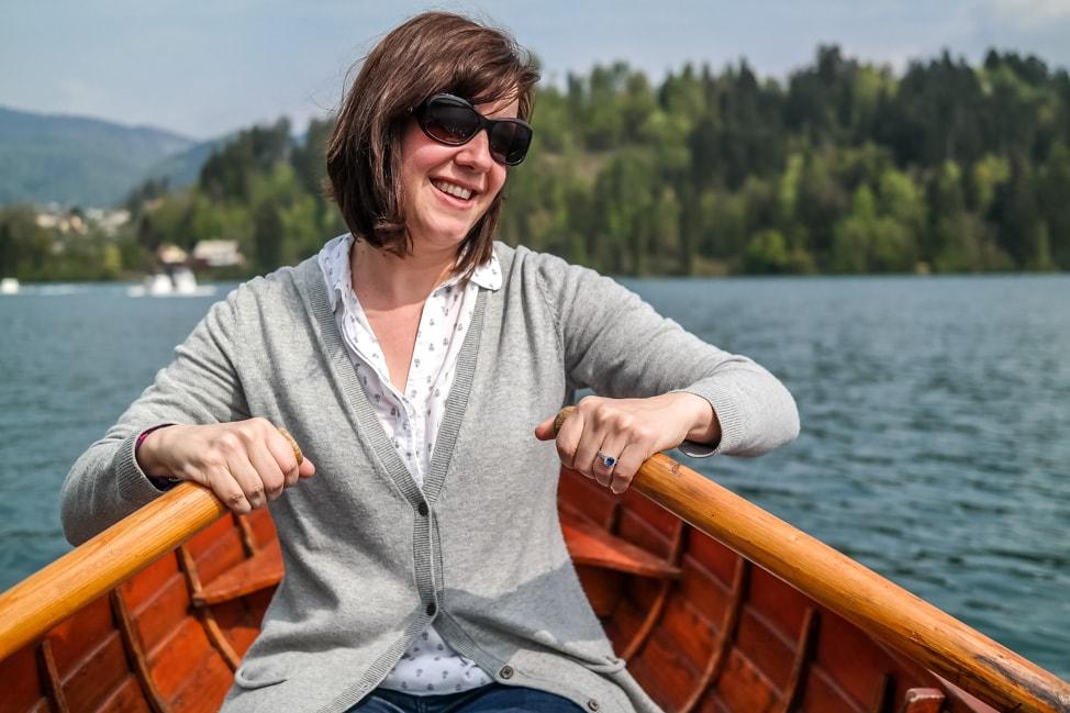 lake bled rowing