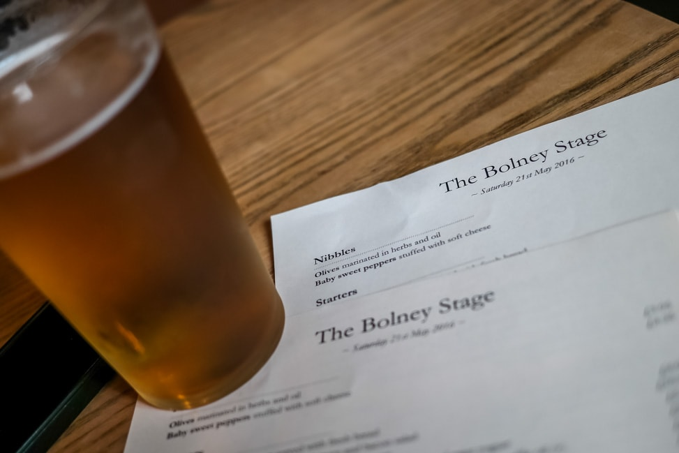 A pint at Boyeln Stage -- What's on in Brighton
