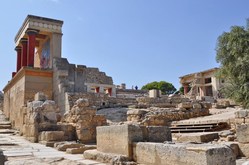 Crete Holidays: ancient ruins on Crete