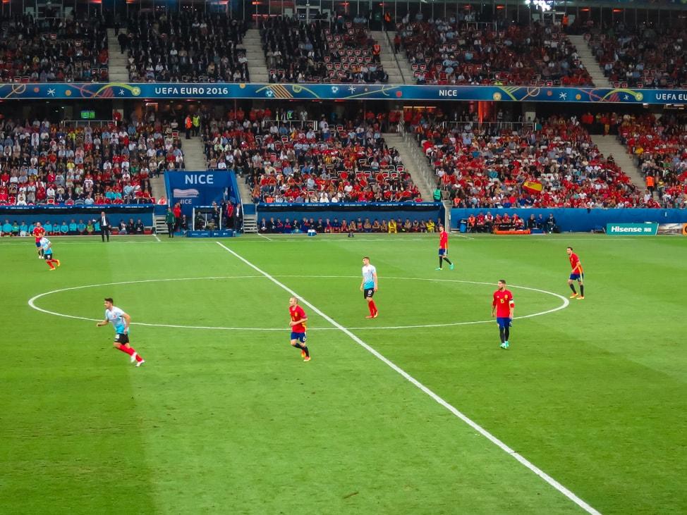 Spain vs Turkey, Euros 2016 in Nice, France
