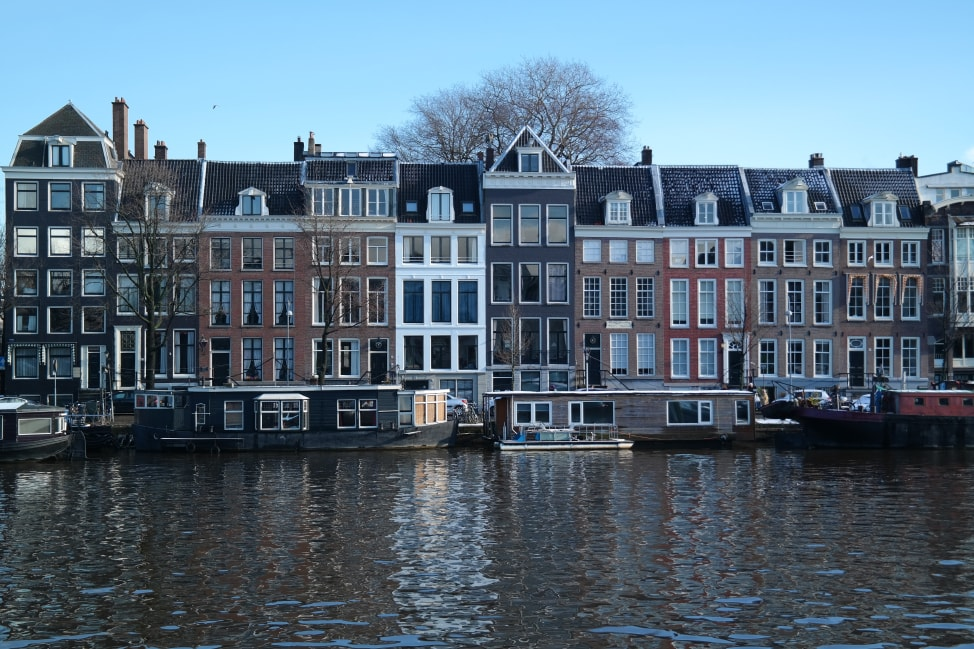 amsterdam tall houses