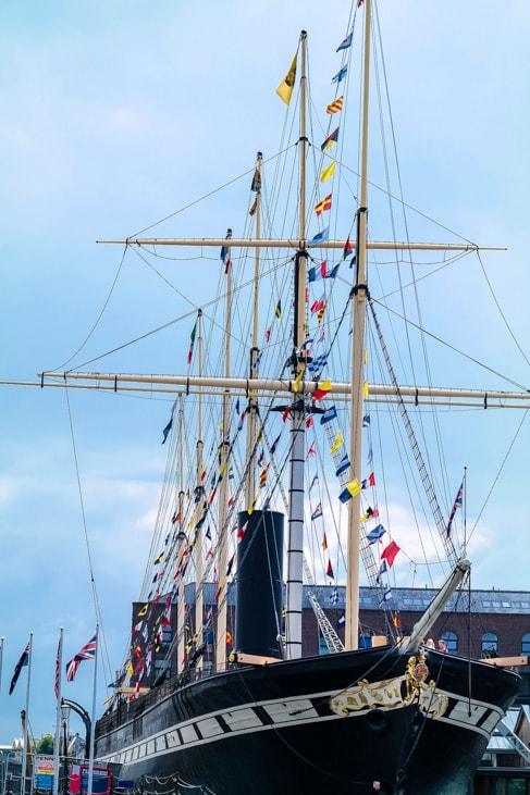 Brunel ship, Bristol
