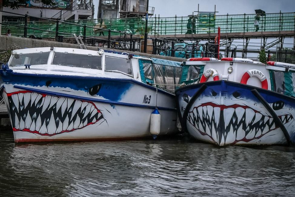 Shark boats, Bristol