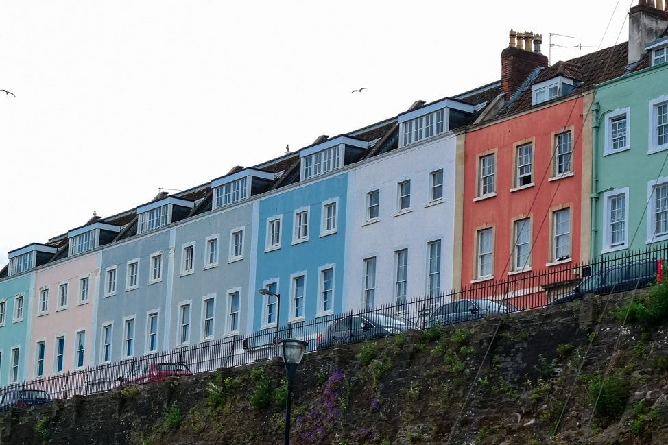 Colorful houses, Bristol