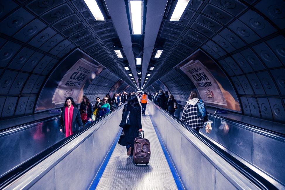 London Tube Rush Hour