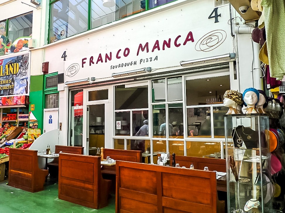 The Best Places to Eat in Brixton Market -- Franco Manca