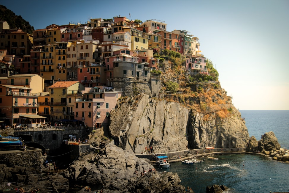 The picturesque hillside villages of Cinque Terre will be the second stop on our Italy Road Trip