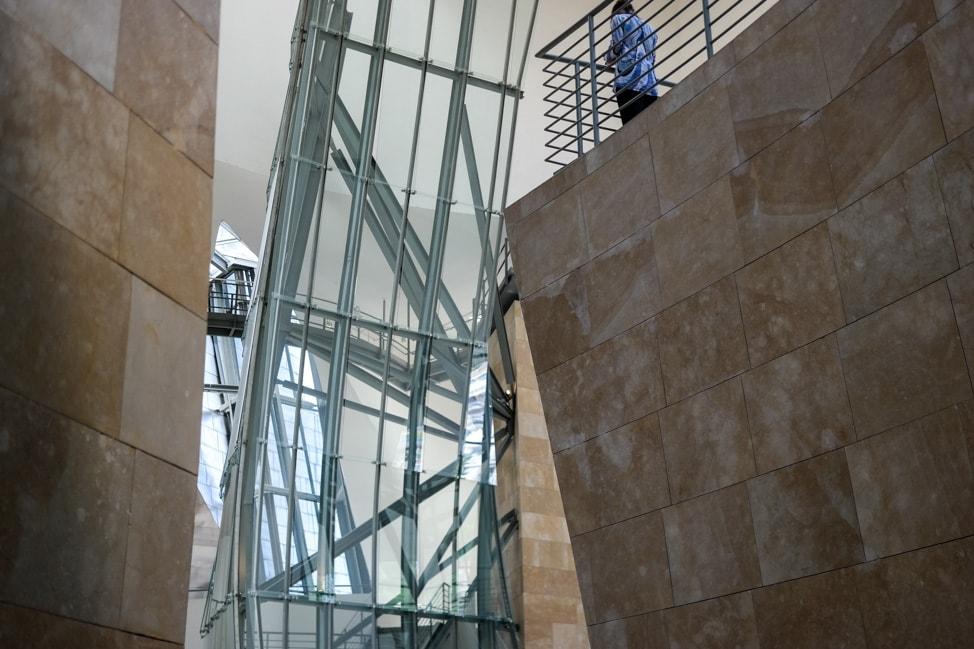 The Atrium at the Guggenheim Museum Bilbao