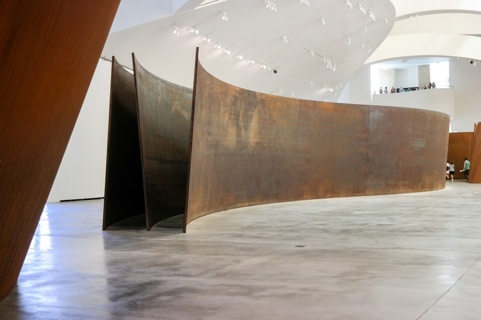 'The Matter of Time' by Richard Serra at the Guggenheim Musuem Bilbao in Bilbao, Spain