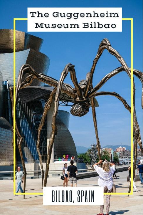 Guggenheim Museum Bilbao in Bilbao, Spain