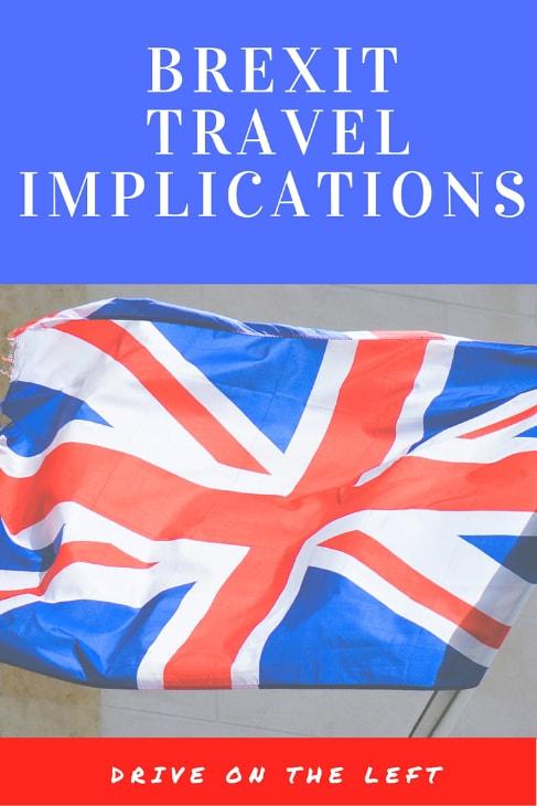 Brexit Travel Implications