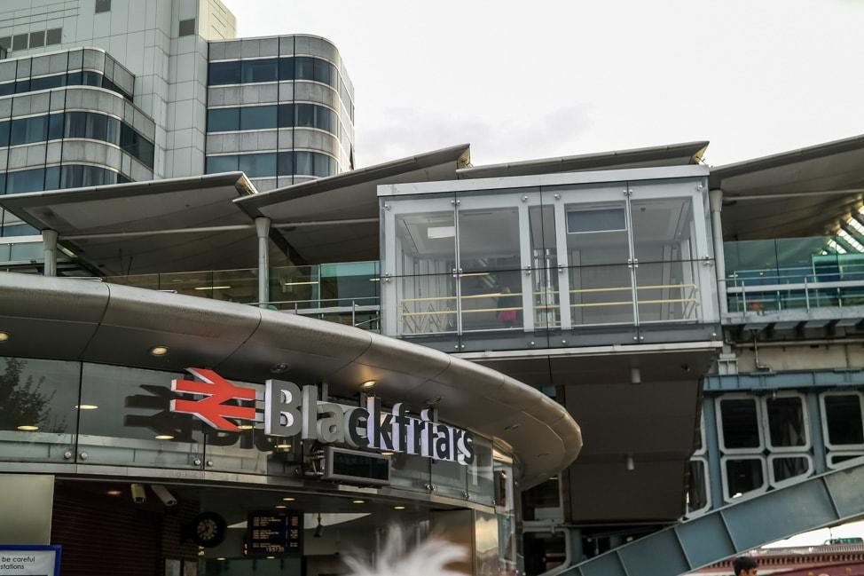 Blackfriars Train Station