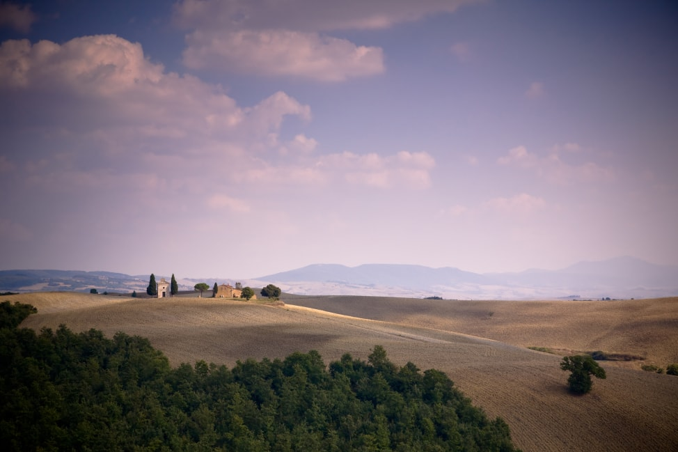 The countryside of Italy, part of our Italy road trip itinerary