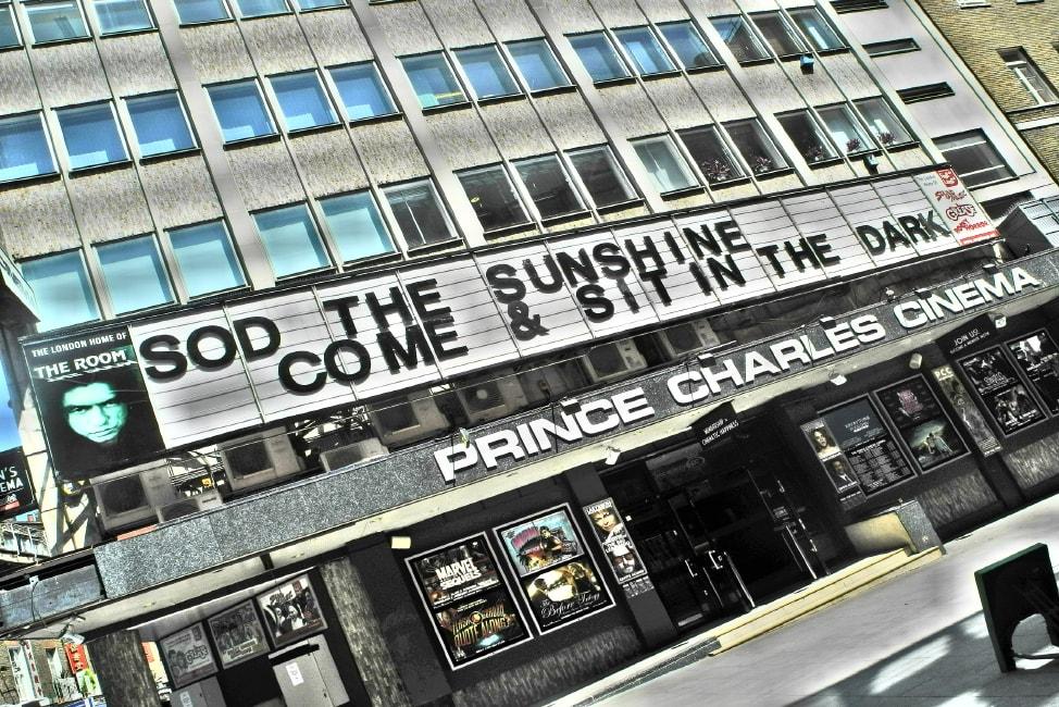 London Bucket List: Summer 2016. The Prince Charles Cinema...still on the list.