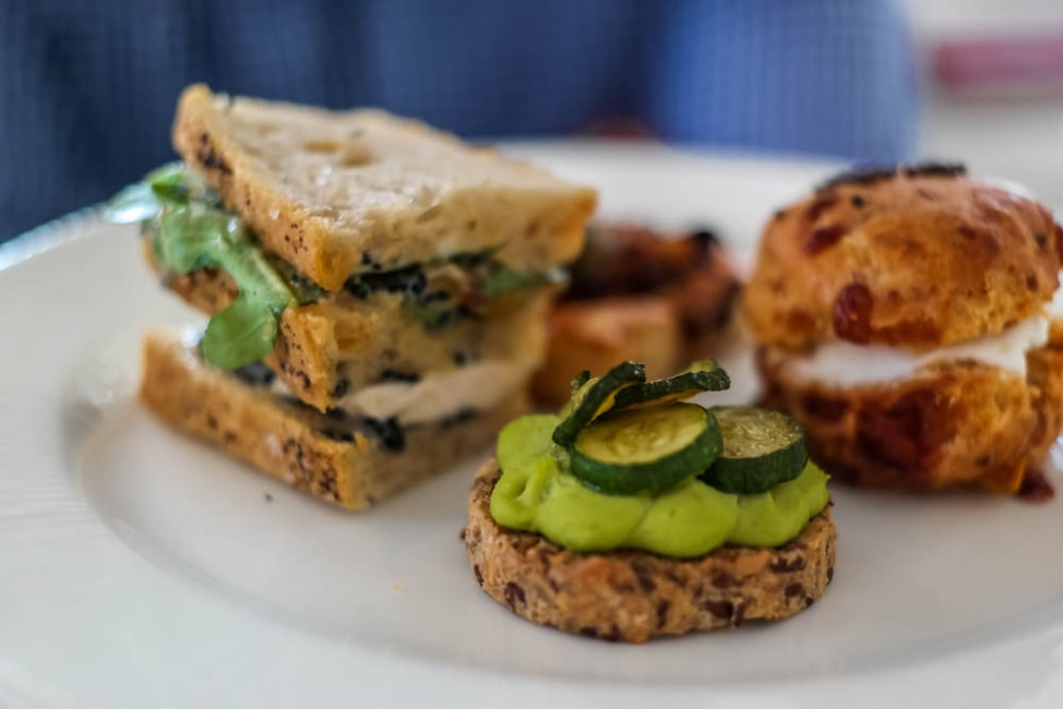 Best Dishes in London: Savory Afternoon Tea at Modern Pantry