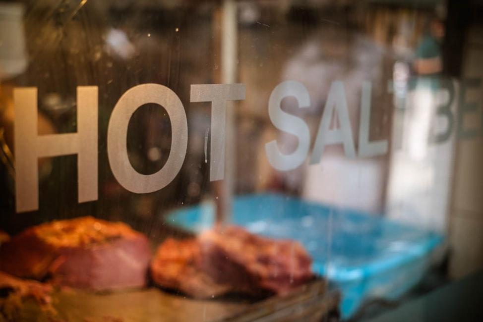 Best Dishes in London: Hot Salt Beef Beigels at Beigel Bake