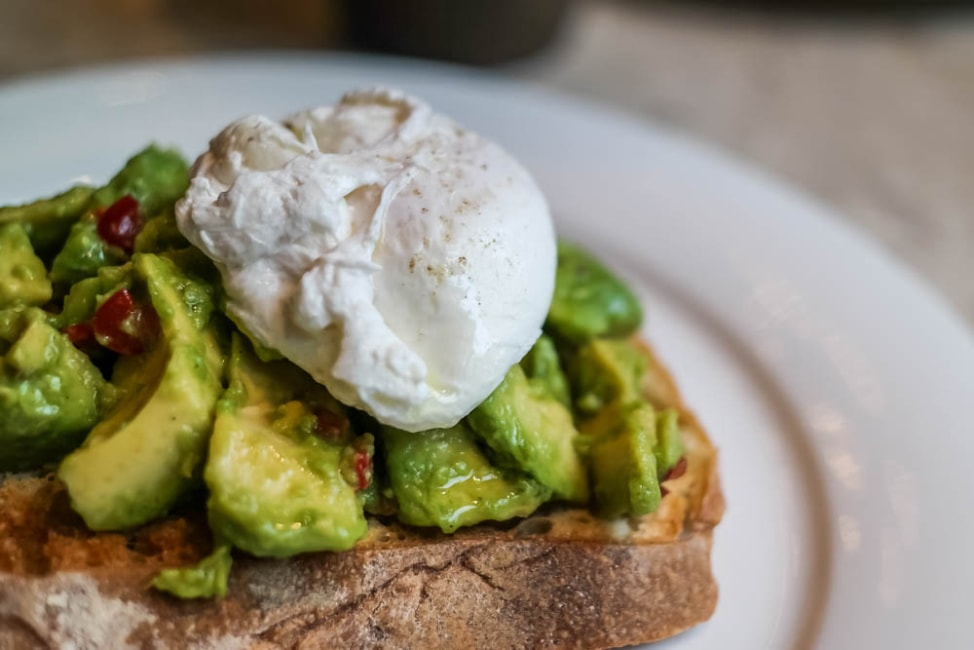 Best Dishes in London: Avocado Toast at Breakfast Club