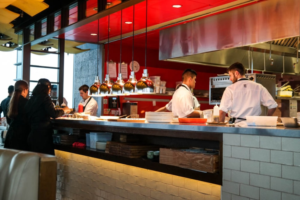 Best Dishes in London: The bar at Barrafina