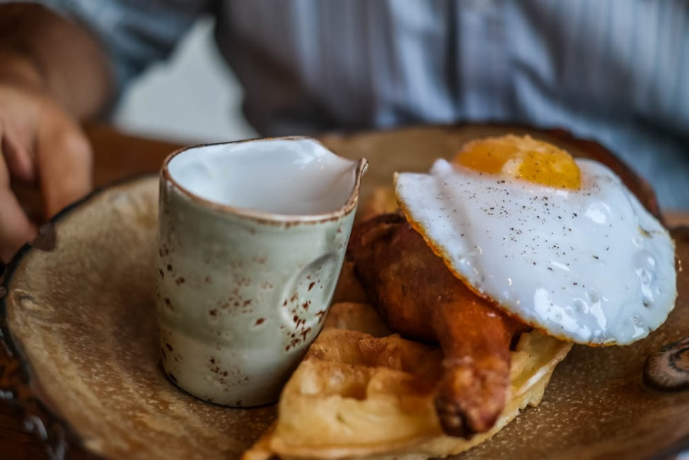 Best Dishes in London: Duck and Waffle at Duck and Waffle