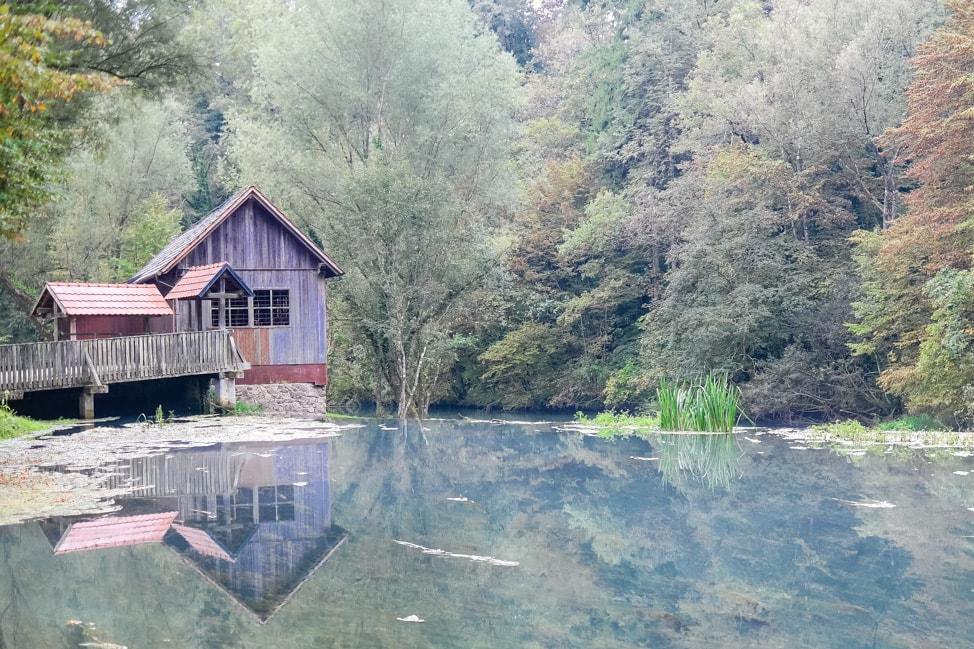 Big Berry Resort: river in Bela Krajina region