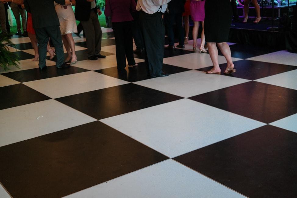 High Hampton Inn: the dance floor