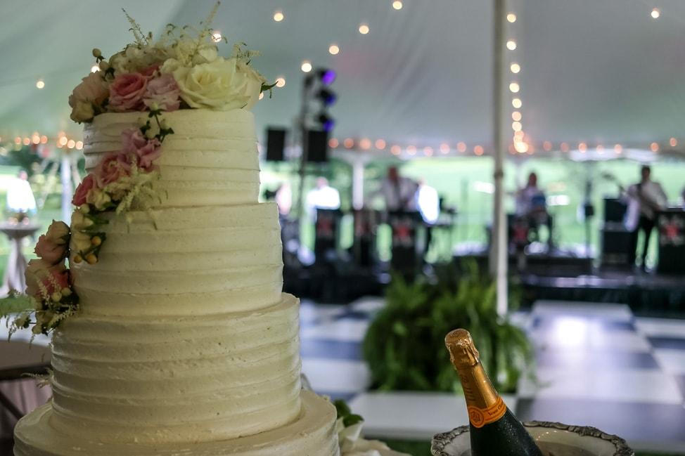 High Hampton Inn: the wedding cake