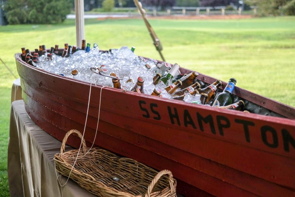 High Hampton Inn: A literal boatload of beer