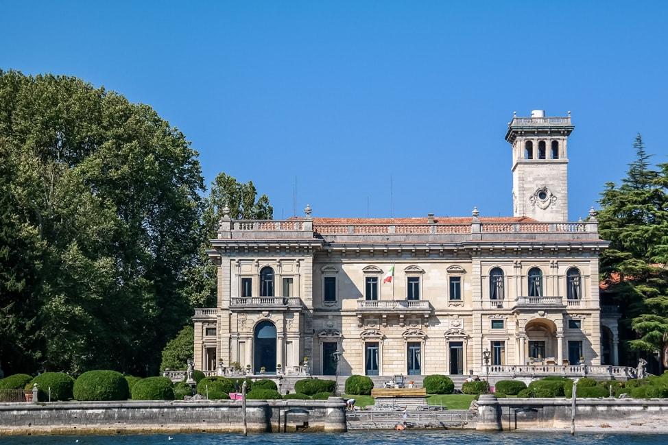 Ocean's Twelve villa