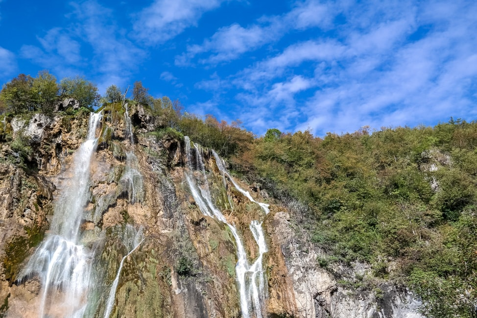 Visiting Plitvice Lakes: The Great Fall, the tallest waterfall in the park