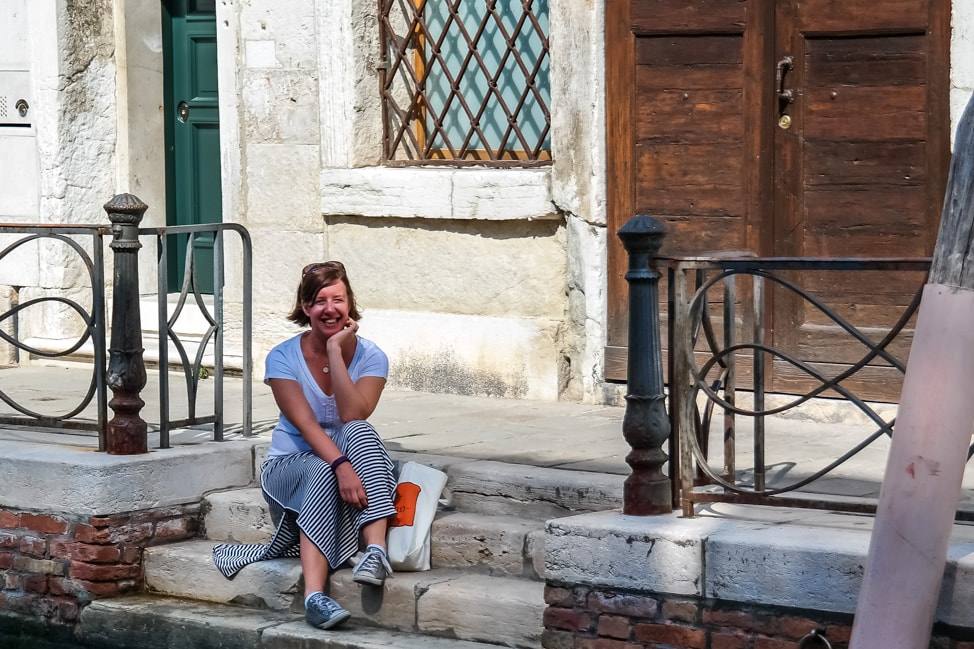 Venice Walking Tour: Julie in Venice
