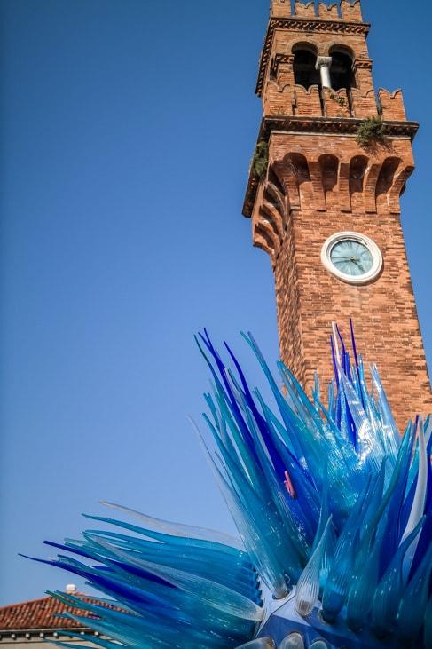 Venice Walking Tour: Murano glass sculpture